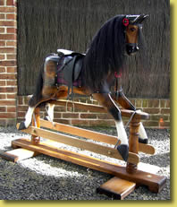 Chestnut Rocking Horse