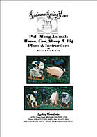 pull along toy farm animal plan