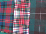 rocking horse kit supplies tartan cloth