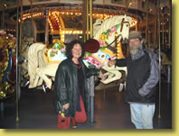 Chris and Patricia Mullins Rocking Horse Expert Melbourne