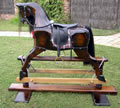 Large Bay Rocking Horse Left