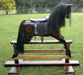 Large Bay Rocking Horse Right