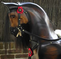 Large Chestnut Rocking Horse Head
