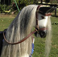 Large Grey Dappled Rocking Horse Head